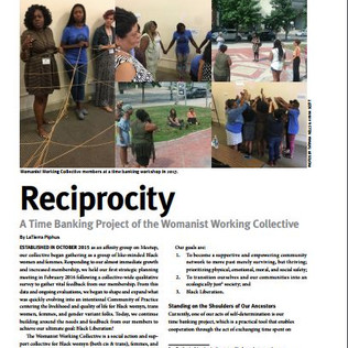 WWC's Grassroots Fundraising Journal article