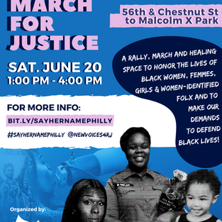#SayHerName March for Justice