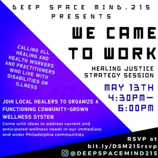 Upcoming Deep Space Mind Workshops!