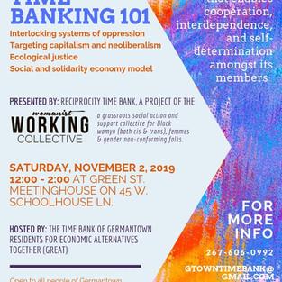 Next Radical Time Banking Workshop in Germantown!