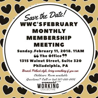 February's Monthly Membership Meeting