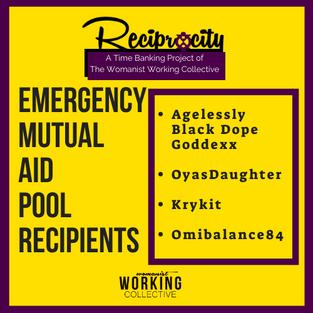 Emergency Mutual Aid Pool Recipients!