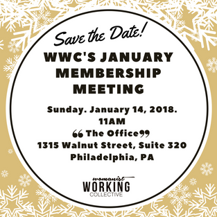 1st Monthly Meeting of 2018