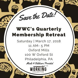 Upcoming Quarterly Membership Retreat: Saturday, March 17