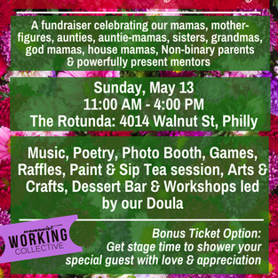 Are you coming to our Mama's Day Party?