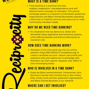 Reciprocity: WWC's Time Bank