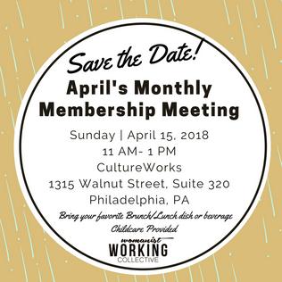 April's Membership Meeting