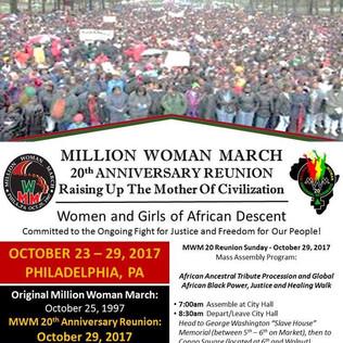 Original Million Woman March 20 Year Reunion