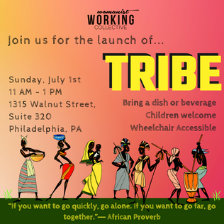 Members are encouraged to join us for the launch of The Tribe
