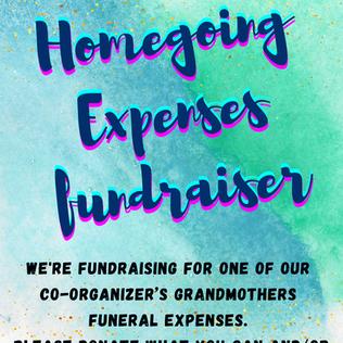Homegoing Expenses Fundraiser!