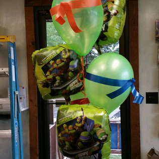 Ninja Turtle Theme Birthday Delivery