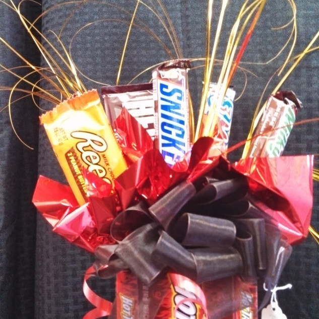 Red Hot Love Candy Bouquet