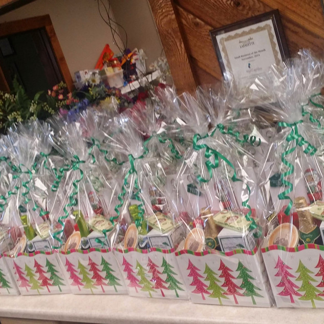 Custom Christmas Baskets