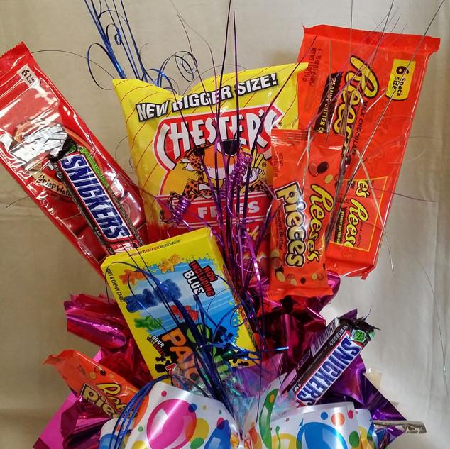 Custom Candy Bar Bouquet