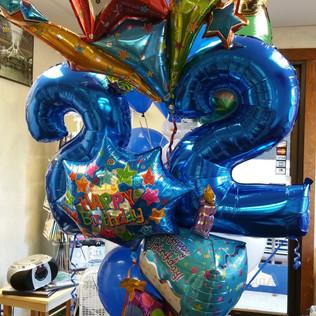 Custom Number Birthday Bouquet