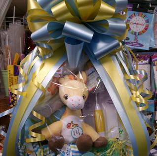 Baby Theme Gift Basket