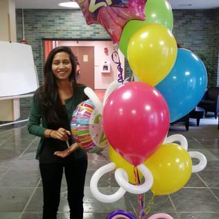 21st Birthday Balloon Bouquet