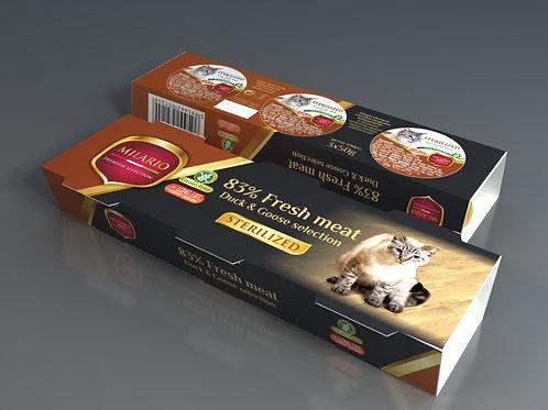 Milario Premium Pate Selection - Sterilized