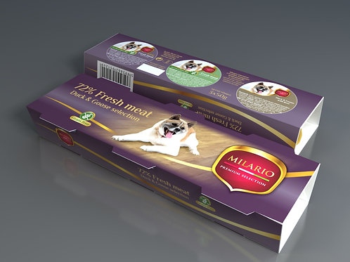 Milario Premium Pate Selection - All Ages