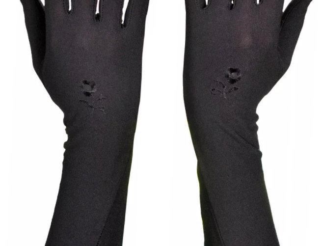 Black Modesty Gloves
