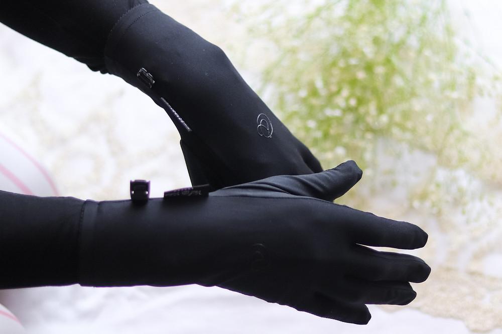 muslim gloves, black niqabi gloves, muslimah accessories, modest gloves, niqab