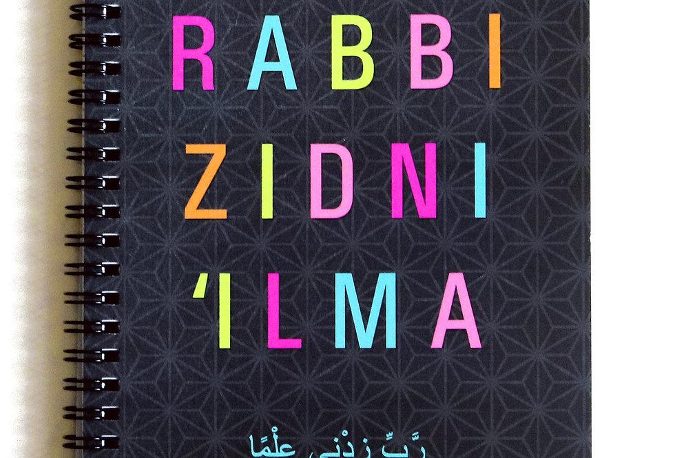 Rabbi Zidni 'Ilma Wiro Notebook