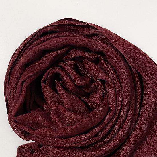 Burgundy Modal Hijab
