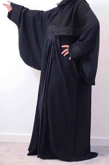 Rafiah Pleated Batwing Abaya