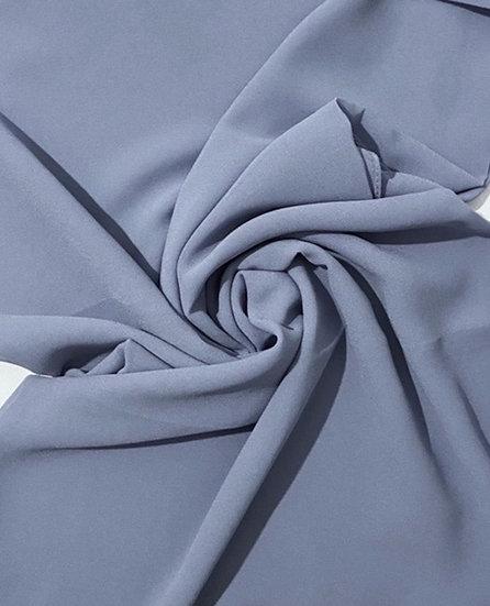 Essential Chiffon Hijab Dusty Blue