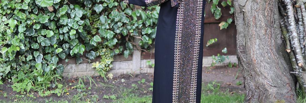 Ahrin Bejewelled Abaya