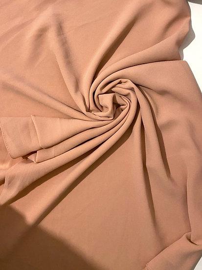 Essential Chiffon Hijab Nude Peach