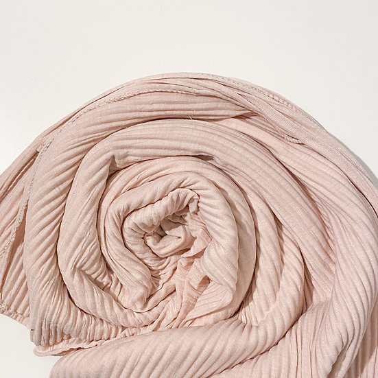 Pampas Pleated Jersey Hijab