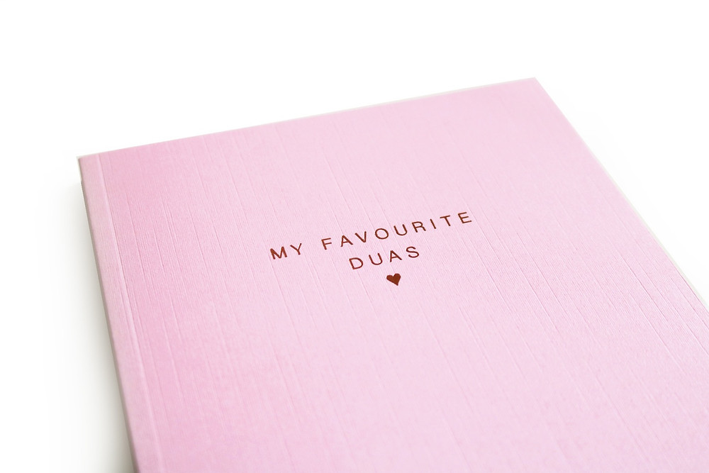 My Favourite Dua's Luxe Islamic Notebook. Compile your favourite Dua's all in one beautifully bound notebook.