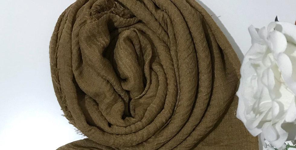 Soft Weave Hijab Medieval Gold
