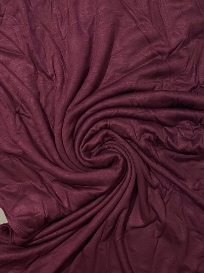 Premium Jersey Hijab Mulberry