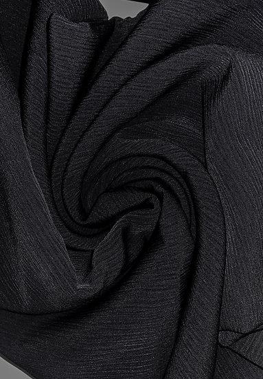 Black Wave Hijab