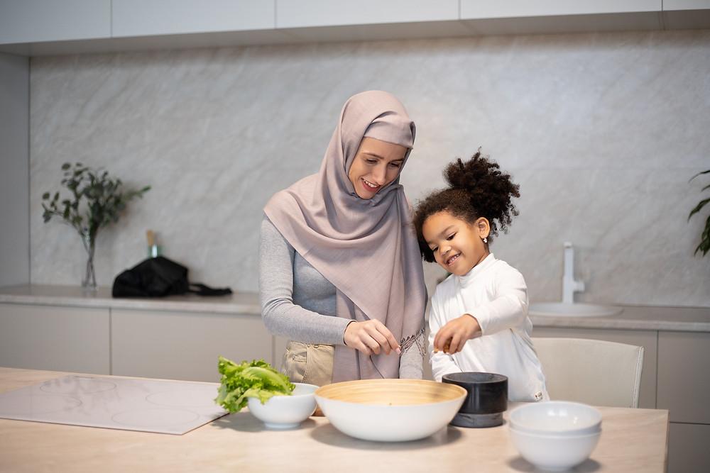 iftar, ramadan cooking, preparingfatoor, family cooking, muslim family