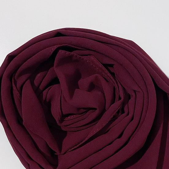Essential Chiffon Hijab Burgundy