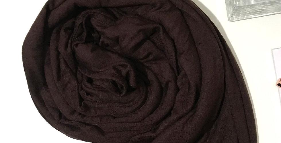 Premium Jersey Hijab Cocoa