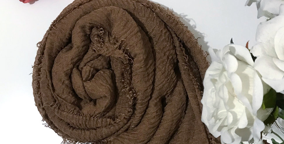 Soft Weave Hijab Coppertone