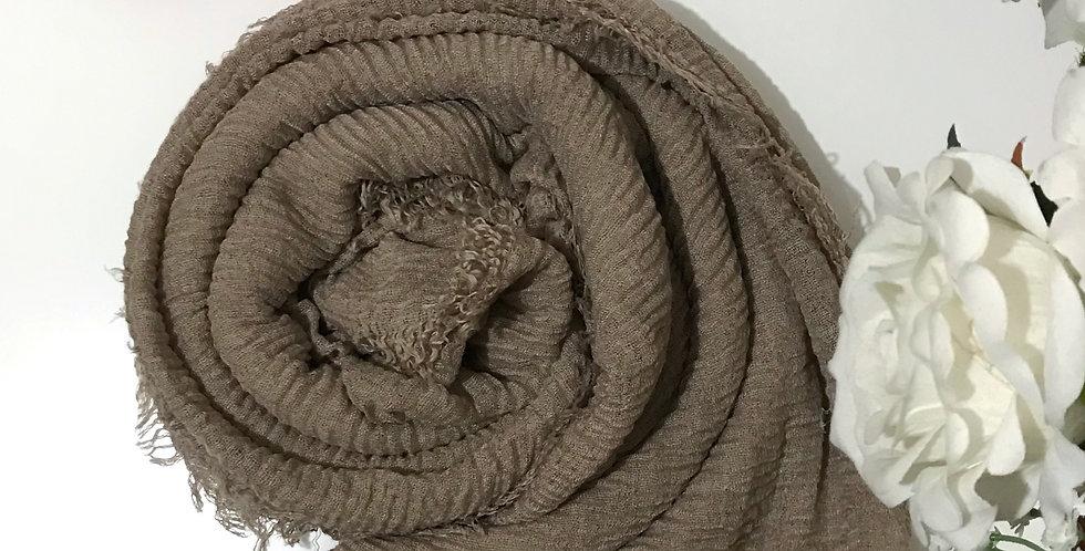 Soft Weave Hijab Driftwood