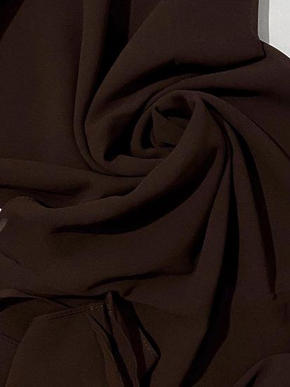 Essential Chiffon Hijab Cocoa