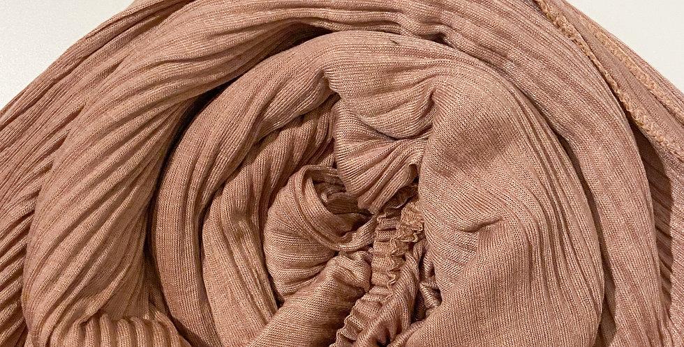 Sunkissed Pleated Jersey Hijab