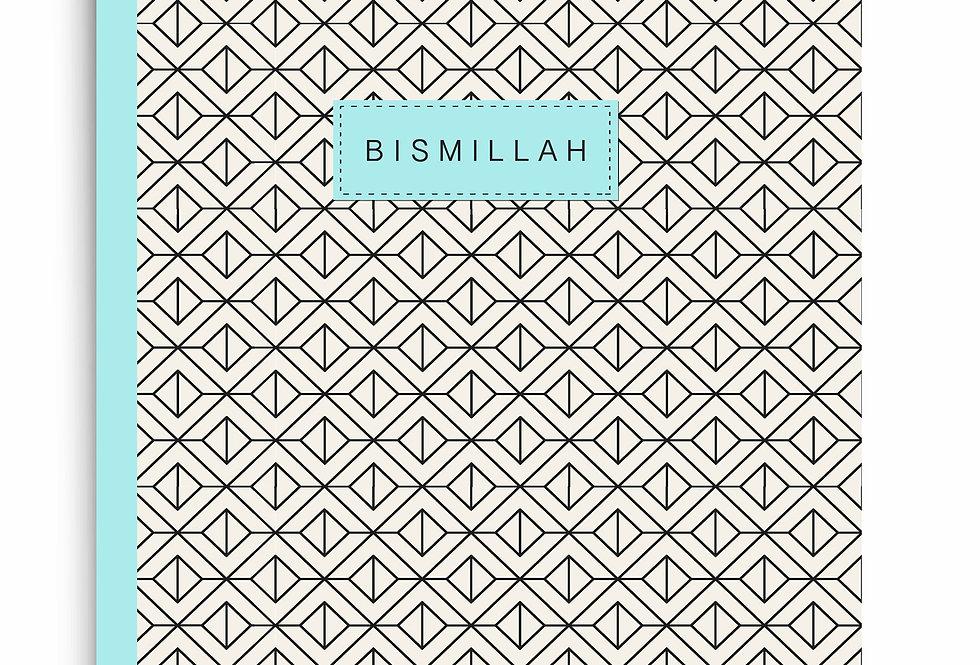 Bismillah Aqua Notebook