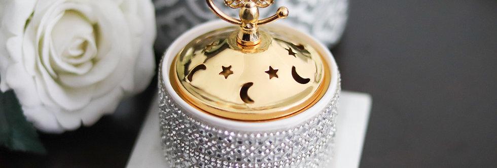 Ceramic Crystal Bakhoor Burner