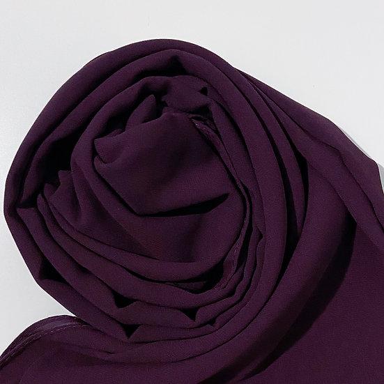 Essential Chiffon Hijab Blackberry