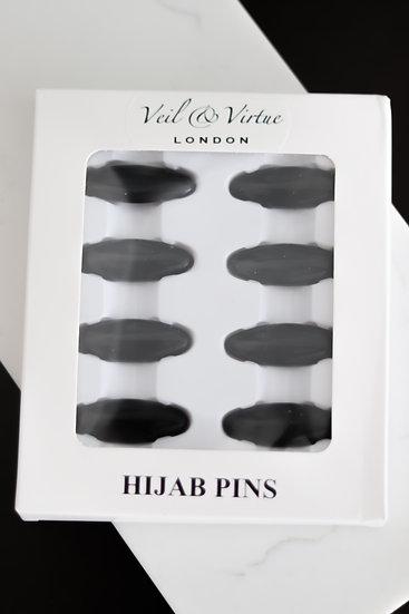 Hijab Pin Set - Black