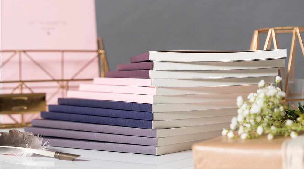 Islamic notebooks with 4 different cover styles