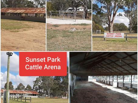 Sunset Stud Cattle Arena