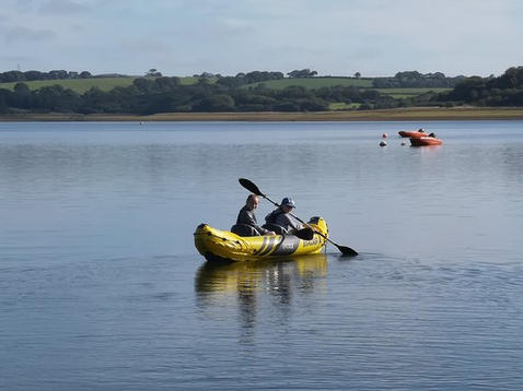 Roadford Reservoir Kayaking